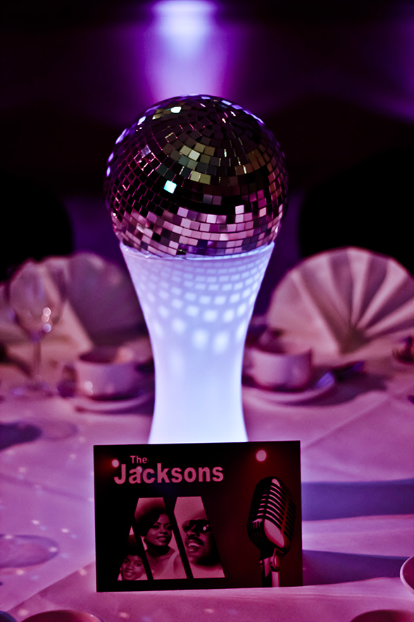 Jacksons table centre